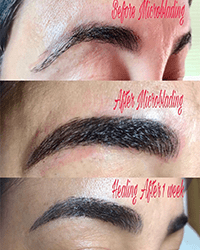 MicroBlading Effect